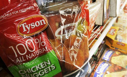Tyson Foods Issues Chicken Nugget Recall