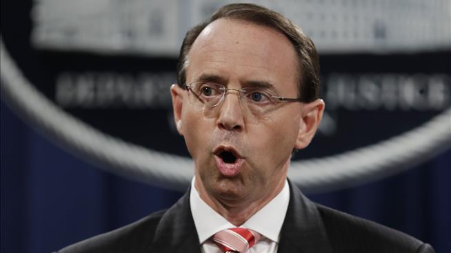 Rod Rosenstein called upon to testify by House Freedom Caucus Republicans