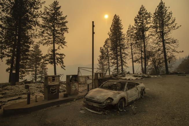 Paradise: Before and after the town's wildfire destruction