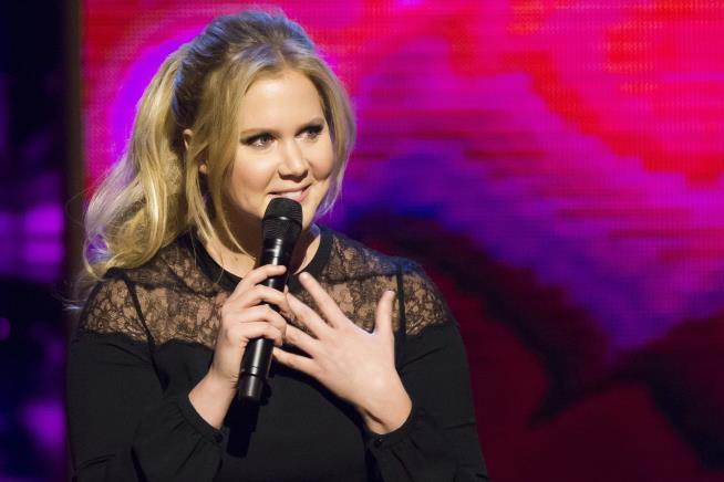 Amy Schumer hospitalized with hyperemesis during second trimester of pregnancy