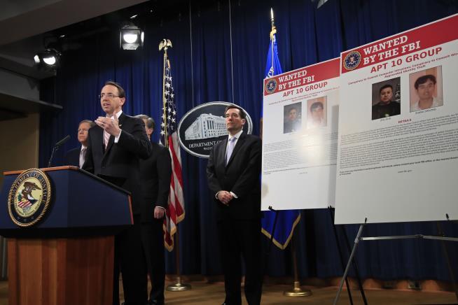 China calls U.S. arrogant and selfish after hacking indictment