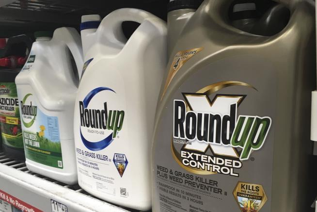 Jury finds Monsanto's Roundup weed killer major factor in California man's cancer