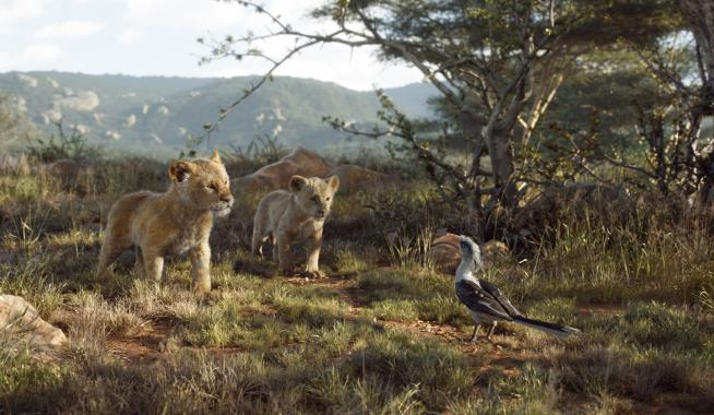 'The Lion King' Topples All-Time Opening Weekend Record For An Animated Film