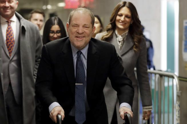 Former actress tells court how Harvey Weinstein groped, propositioned her