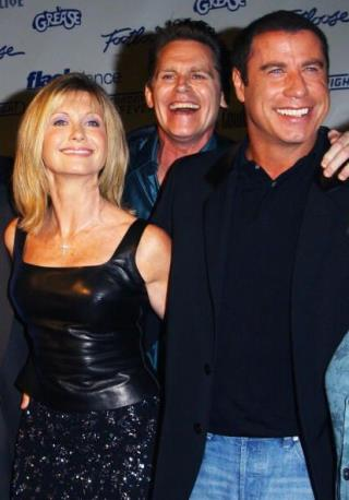 travolta put his mouth on grease co star conaway