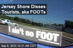 Jersey Shore Disses Tourists, aka FOOTs