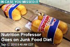 Nutrition Professor Goes on Junk Food Diet