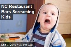 NC Restaurant Bars Screaming Kids