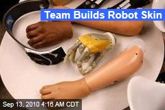 Team Builds Robot Skin