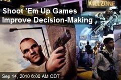 Shoot 'Em Up Games Improve Decision-Making