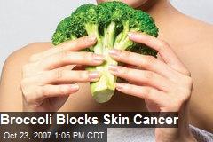 Broccoli Blocks Skin Cancer