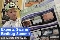 Experts Swarm Bedbug Summit