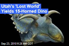Utah's 'Lost World' Yields 15-Horned Dino