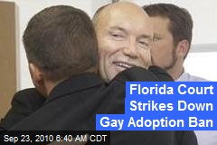 Florida Court Strikes Down Gay Adoption Ban