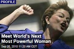 Meet World's Next Most Powerful Woman