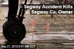Segway Accident Kills Segway Co. Owner