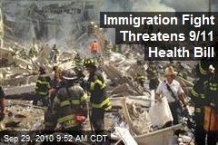 Immigration Fight Threatens 9/11 Health Bill