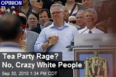 Tea Party Rage? No, Crazy White People
