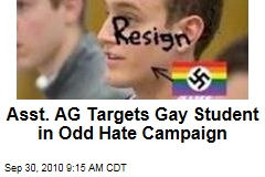 """Andrew Shirvell's """"Chris Armstrong Watch"""": Assistant Michigan Attorney General Runs Blog Campaign Against Gay Student President"""