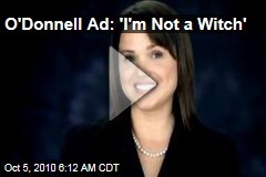 O'Donnell Ad: 'I'm Not a Witch'