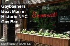 NY Gaybashers Beat Customer in Historic Stonewall
