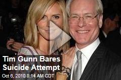 Tim Gunn Bares Suicide Attempt