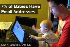 7% of Babies Have Email Addresses