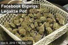Facebook Founders Donate $150K to Legal Pot Campaign