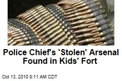 Minnesota Police Chief Eric Swenson Loses Arsenal to Kids' Fort