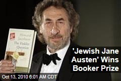 'Jewish Jane Austen' Wins Booker Prize