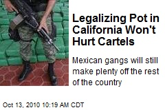 Legalizing Pot in California Won't Hurt Cartels
