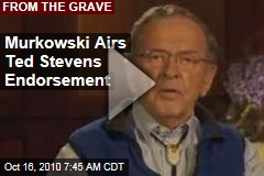 Murkowski Airs Ted Stevens Endorsement