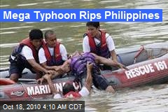 Mega Typhoon Rips Philippines