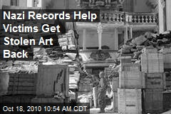 Nazi Records Help Victims Get Stolen Art Back