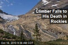 Climber Falls to His Death in Rockies