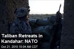 Taliban Retreats in Kandahar: NATO