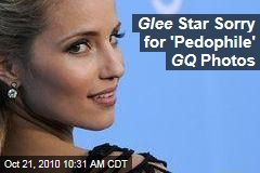 'Glee' GQ Photo Shoot Controversy: Dianna Agron Apologizes for Pictures Ripped by Parents Television Council
