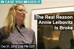 Annie Leibovitz Is Broke Because No One Is Collecting Her Photography