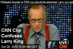 CNN Clip Confuses Larry King