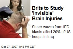 Brits to Study 'Invisible' Brain Injuries