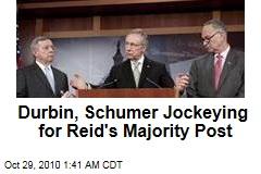 Richard Durbin, Charles Schumer Eyeing Senate Majority Leader's Job