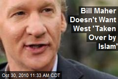 Bill Maher Doesn't Want West 'Taken Over by Islam'