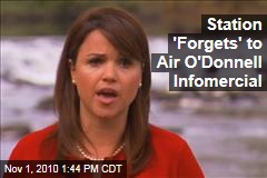 Station 'Forgets' to Air O'Donnell Infomercial