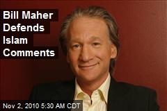 Bill Maher Defends Islam Comments