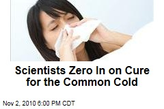 Scientists Zero In on Cure for the Common Cold