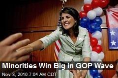 Minorities Win Big in GOP Wave