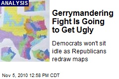 Gerrymandering Fight Is Going to Get Ugly