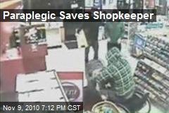 Paraplegic Saves Shopkeeper