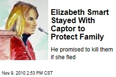 Elizabeth Smart Stayed With Captor to Protect Family