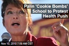 Sarah Palin 'Cookie Bombs' School Over Nutrition Flap